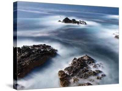 Rocks Below Soberanes-Douglas Steakley-Stretched Canvas Print