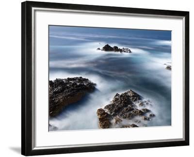 Rocks Below Soberanes-Douglas Steakley-Framed Photographic Print