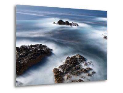 Rocks Below Soberanes-Douglas Steakley-Metal Print
