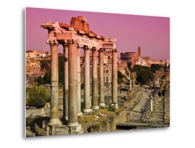 Roman Forum from Capitoline Hill-Glenn Beanland-Metal Print