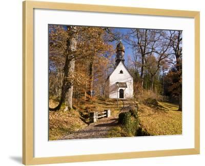 Small Kapelle (Chapel) at Schloss Linderhof (Linderhof Palace), Near Ettal-Glenn Van Der Knijff-Framed Photographic Print