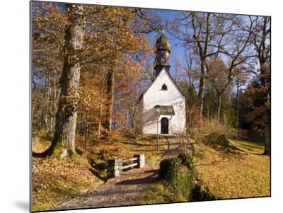 Small Kapelle (Chapel) at Schloss Linderhof (Linderhof Palace), Near Ettal-Glenn Van Der Knijff-Mounted Photographic Print