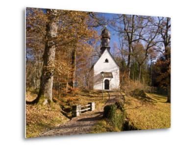 Small Kapelle (Chapel) at Schloss Linderhof (Linderhof Palace), Near Ettal-Glenn Van Der Knijff-Metal Print