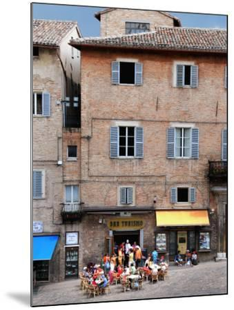 Outdoor Cafe in Piazza Del Duomo-Frank Wing-Mounted Photographic Print