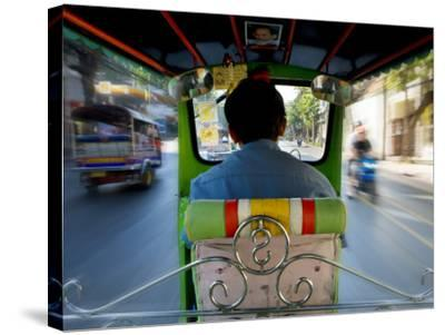 Tuk Tuk Taxi-Jean-pierre Lescourret-Stretched Canvas Print