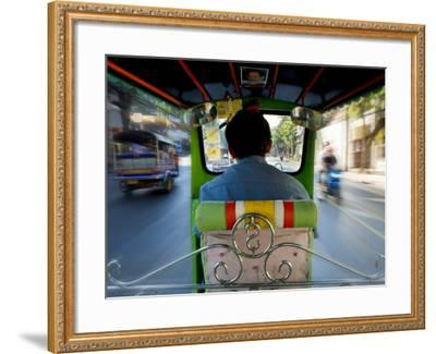 Tuk Tuk Taxi-Jean-pierre Lescourret-Framed Photographic Print