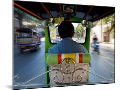 Tuk Tuk Taxi-Jean-pierre Lescourret-Mounted Photographic Print