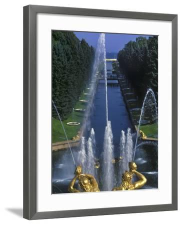 Peterhof Palace-Jean-pierre Lescourret-Framed Photographic Print