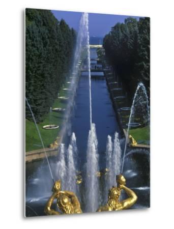 Peterhof Palace-Jean-pierre Lescourret-Metal Print