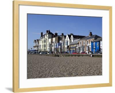 Seafront Buildings at Aldeburgh-Neil Setchfield-Framed Photographic Print
