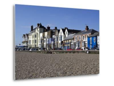 Seafront Buildings at Aldeburgh-Neil Setchfield-Metal Print