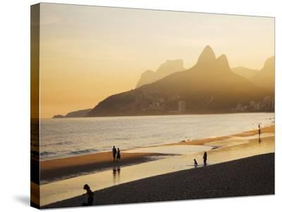 Ipanema Beach-Micah Wright-Stretched Canvas Print