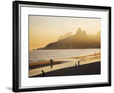 Ipanema Beach-Micah Wright-Framed Photographic Print