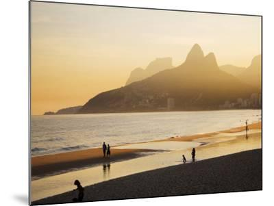 Ipanema Beach-Micah Wright-Mounted Photographic Print