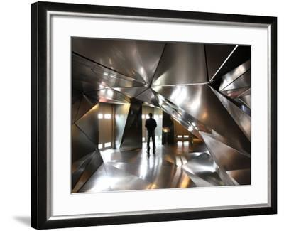 Elevator Lobby of 4th Floor of Hotel Puerta America-Bruce Bi-Framed Photographic Print