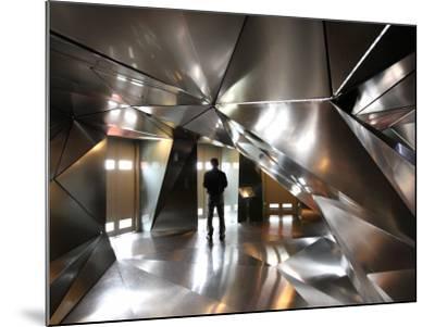 Elevator Lobby of 4th Floor of Hotel Puerta America-Bruce Bi-Mounted Photographic Print
