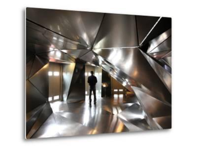 Elevator Lobby of 4th Floor of Hotel Puerta America-Bruce Bi-Metal Print