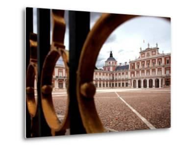 Royal Palace of Aranjuez-Bruce Bi-Metal Print