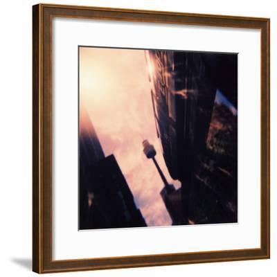 Centre Point Tower and Monorail-David Hannah-Framed Photographic Print