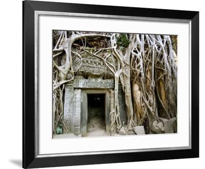 Angkor Thom Temple-Aldo Pavan-Framed Photographic Print