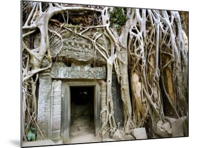 Angkor Thom Temple-Aldo Pavan-Mounted Photographic Print