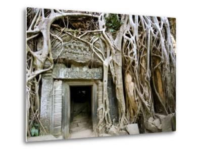 Angkor Thom Temple-Aldo Pavan-Metal Print