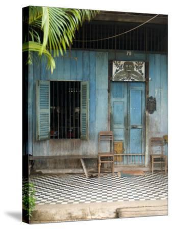 Old Shophouse-Austin Bush-Stretched Canvas Print