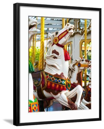 Carousel Horses at Yerba Buena Center for the Arts-Sabrina Dalbesio-Framed Photographic Print