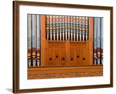Organ in Christchurch Cathedral-Richard Cummins-Framed Photographic Print
