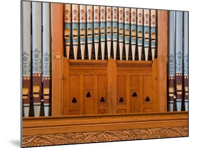 Organ in Christchurch Cathedral-Richard Cummins-Mounted Photographic Print