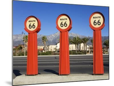 Route 66 Signs-Richard Cummins-Mounted Photographic Print