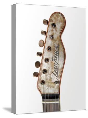 Billy F. Gibbons Custom Guitar-David Perry-Stretched Canvas Print