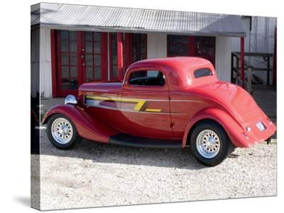 Billy F. Gibbons ZZ Top Car-David Perry-Stretched Canvas Print