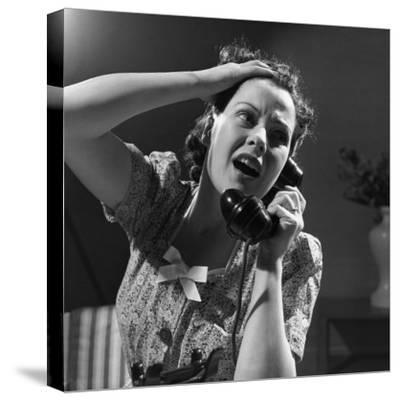 Emergency Call--Stretched Canvas Print