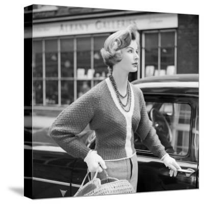 50S Knitwear-Chaloner Woods-Stretched Canvas Print