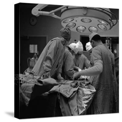 Surgical Operation-H^ Armstrong Roberts-Stretched Canvas Print