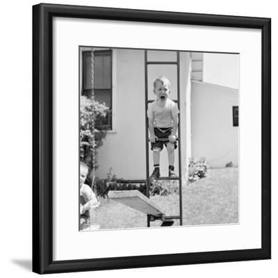 Swing Set Scares-H^ Armstrong Roberts-Framed Premium Photographic Print