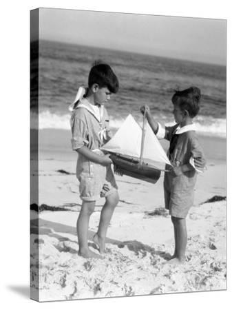 Young Sailors-H^ Armstrong Roberts-Stretched Canvas Print