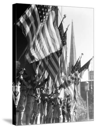 Boy Scouts-H^ Armstrong Roberts-Stretched Canvas Print