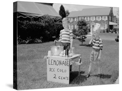 Lemonade Stall-H^ Armstrong Roberts-Stretched Canvas Print