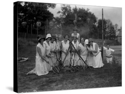Tennis Ladies--Stretched Canvas Print