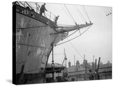 Merchant Ship--Stretched Canvas Print
