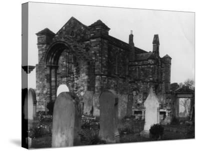 Graveyard--Stretched Canvas Print