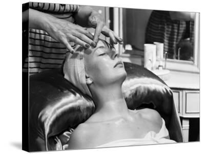 Face Massage-Chaloner Woods-Stretched Canvas Print