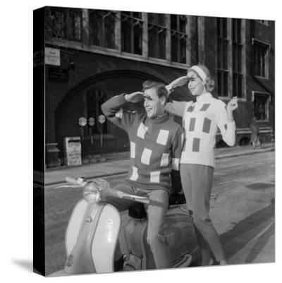 Scooter Fashion-Chaloner Woods-Stretched Canvas Print