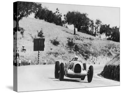 Auto Racing--Stretched Canvas Print