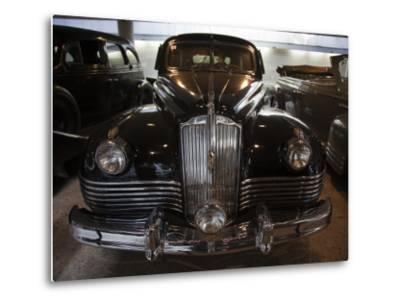 Joseph Stalin in His Kremlin Limousine, Riga Motor Museum, Riga, Latvia-Walter Bibikow-Metal Print