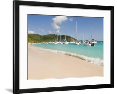Popular Moorings For Bareboaters and Charter Sail, White Bay, Jost Van Dyke, Bvi-Trish Drury-Framed Photographic Print