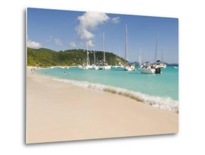 Popular Moorings For Bareboaters and Charter Sail, White Bay, Jost Van Dyke, Bvi-Trish Drury-Metal Print