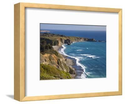 Big Sur Coastline in California, USA-Chuck Haney-Framed Photographic Print